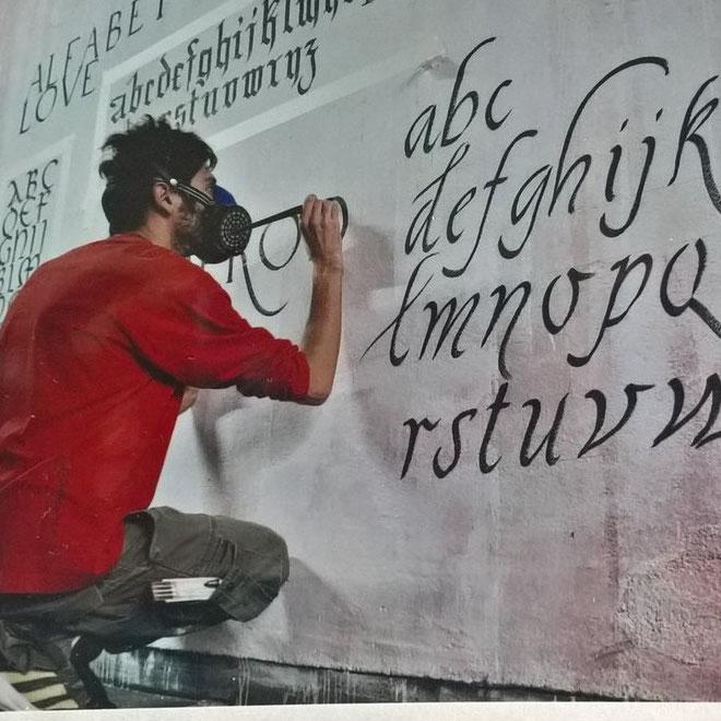 calligrafia calligraffiti