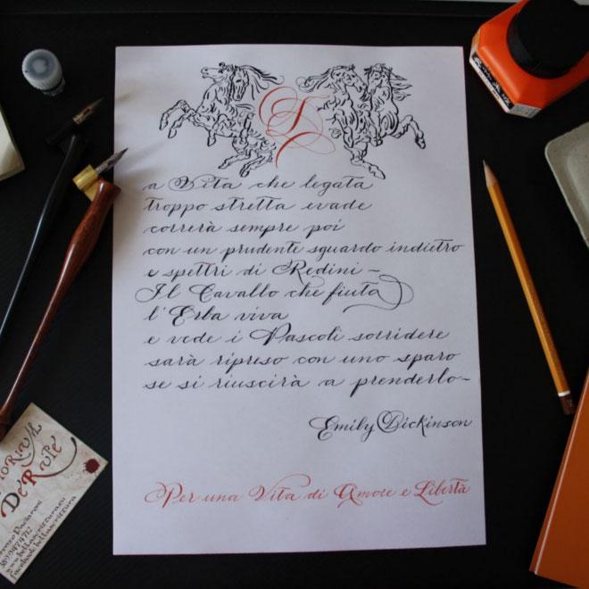 calligrafia spencerian